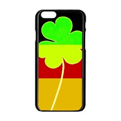 Irish German Germany Ireland Funny St Patrick Flag Apple Iphone 6/6s Black Enamel Case by yoursparklingshop