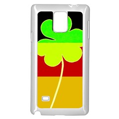 Irish German Germany Ireland Funny St Patrick Flag Samsung Galaxy Note 4 Case (white) by yoursparklingshop