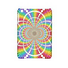 Color Background Structure Lines iPad Mini 2 Hardshell Cases by Amaryn4rt