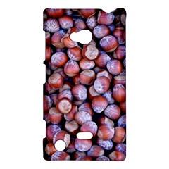 Hazelnuts Nuts Market Brown Nut Nokia Lumia 720 by Amaryn4rt