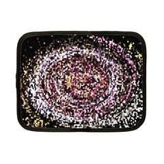 Mosaic Colorful Abstract Circular Netbook Case (small)  by Amaryn4rt