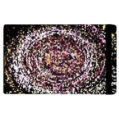 Mosaic Colorful Abstract Circular Apple Ipad 3/4 Flip Case by Amaryn4rt