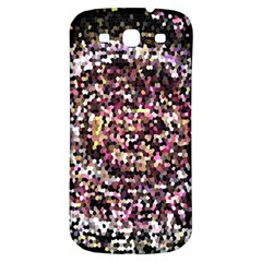 Mosaic Colorful Abstract Circular Samsung Galaxy S3 S Iii Classic Hardshell Back Case by Amaryn4rt
