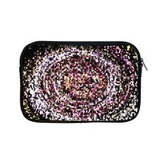 Mosaic Colorful Abstract Circular Apple Ipad Mini Zipper Cases by Amaryn4rt