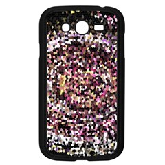 Mosaic Colorful Abstract Circular Samsung Galaxy Grand Duos I9082 Case (black) by Amaryn4rt