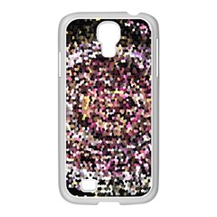 Mosaic Colorful Abstract Circular Samsung Galaxy S4 I9500/ I9505 Case (white) by Amaryn4rt