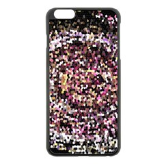 Mosaic Colorful Abstract Circular Apple Iphone 6 Plus/6s Plus Black Enamel Case by Amaryn4rt