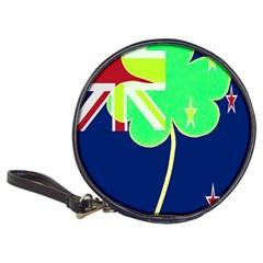 Irish Shamrock New Zealand Ireland Funny St Patrick Flag Classic 20 Cd Wallets by yoursparklingshop