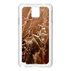 Ice Iced Structure Frozen Frost Samsung Galaxy Note 3 N9005 Case (white) by Amaryn4rt