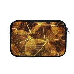 Leaves Autumn Texture Brown Apple Macbook Pro 13  Zipper Case by Amaryn4rt