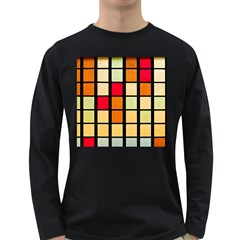 Mozaico Colors Glass Church Color Long Sleeve Dark T Shirts