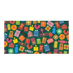 Presents Gifts Background Colorful Satin Wrap by Amaryn4rt