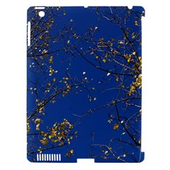 Poplar Foliage Yellow Sky Blue Apple Ipad 3/4 Hardshell Case (compatible With Smart Cover) by Amaryn4rt