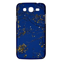 Poplar Foliage Yellow Sky Blue Samsung Galaxy Mega 5 8 I9152 Hardshell Case  by Amaryn4rt