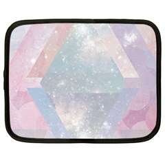 Colorful Pastel Crystal Netbook Case (xxl)  by Brittlevirginclothing