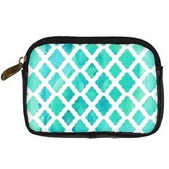 Blue Mosaic  Digital Camera Cases by Brittlevirginclothing