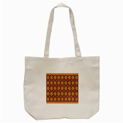 Flower Batik Tote Bag (cream) by Jojostore