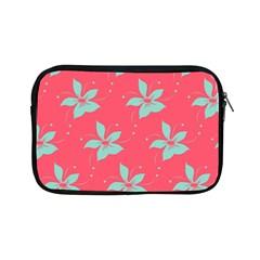 Flower Green Red Apple Ipad Mini Zipper Cases by Jojostore