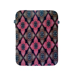 Flower Pink Gray Apple Ipad 2/3/4 Protective Soft Cases by Jojostore