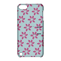 Flowers Fushias On Blue Sky Apple Ipod Touch 5 Hardshell Case With Stand by Jojostore
