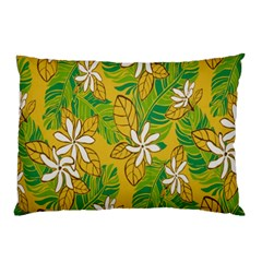 Flower Yellow Pillow Case (two Sides) by Jojostore