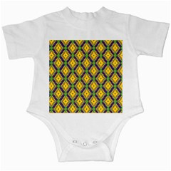 Morocco Flower Yellow Infant Creepers by Jojostore