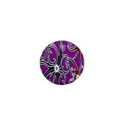 Batik Jogja 1  Mini Magnets by Jojostore