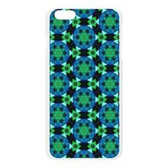 Flower Green Apple Seamless iPhone 6 Plus/6S Plus Case (Transparent)