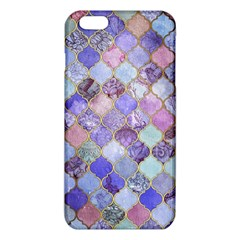 Gorgeous Blue Moroccan Mosaic Iphone 6 Plus/6s Plus Tpu Case by Brittlevirginclothing