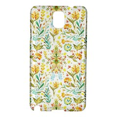 Vintage Pastel Flowers Samsung Galaxy Note 3 N9005 Hardshell Case by Brittlevirginclothing