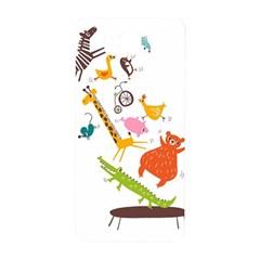 Cute Cartoon Animals Samsung Galaxy Alpha Hardshell Back Case by Brittlevirginclothing