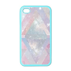 Pastel Colored Crystal Apple Iphone 4 Case (color) by Brittlevirginclothing