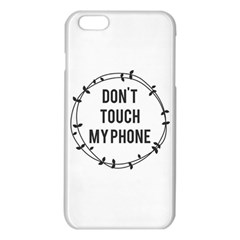 Don t touch my phone iPhone 6 Plus/6S Plus TPU Case