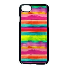 Painted wet paper Apple iPhone 7 Seamless Case (Black) by Brittlevirginclothing