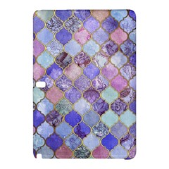 Blue Moroccan Mosaic Samsung Galaxy Tab Pro 12 2 Hardshell Case by Brittlevirginclothing