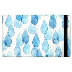 Rain Drops Apple Ipad 2 Flip Case by Brittlevirginclothing