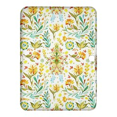Pastel Flower Samsung Galaxy Tab 4 (10 1 ) Hardshell Case  by Brittlevirginclothing