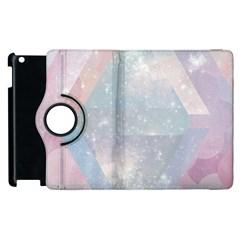 Pastel Crystal Apple Ipad 2 Flip 360 Case by Brittlevirginclothing