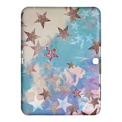 Pastel Stars Samsung Galaxy Tab 4 (10 1 ) Hardshell Case  by Brittlevirginclothing