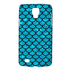 Scales1 Black Marble & Turquoise Marble (r) Samsung Galaxy S4 Active (i9295) Hardshell Case by trendistuff