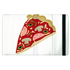Pizza Slice Apple Ipad 3/4 Flip Case by Valentinaart