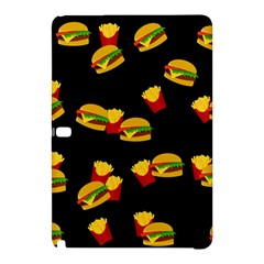Hamburgers And French Fries Pattern Samsung Galaxy Tab Pro 10 1 Hardshell Case by Valentinaart