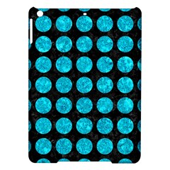 Circles1 Black Marble & Turquoise Marble Apple Ipad Air Hardshell Case by trendistuff