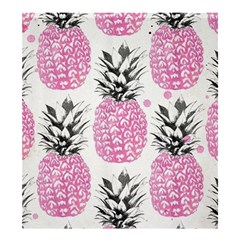 Pink Pineapple Shower Curtain 66  X 72  (large)  by Brittlevirginclothing