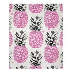 Pink Pineapple Shower Curtain 60  X 72  (medium)  by Brittlevirginclothing