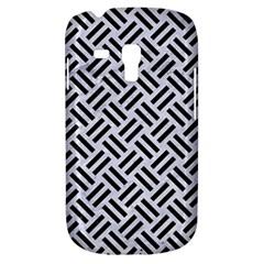 Woven2 Black Marble & White Marble (r) Samsung Galaxy S3 Mini I8190 Hardshell Case by trendistuff