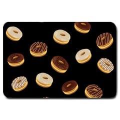 Donuts Large Doormat  by Valentinaart