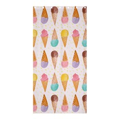 Cute Ice Cream Shower Curtain 36  X 72  (stall)  by Brittlevirginclothing