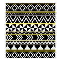 Black Bohemian Shower Curtain 66  X 72  (large)  by Brittlevirginclothing