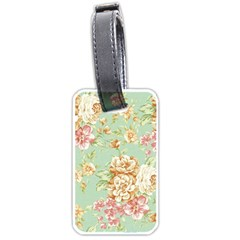 Vintage Pastel Flower Luggage Tags (two Sides) by Brittlevirginclothing